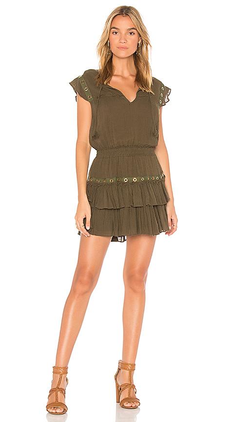 MISA Los Angeles Verene Dress in Olive