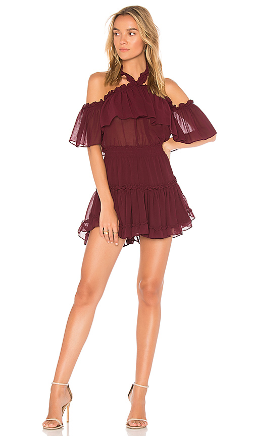 MISA Los Angeles Melis Dress in Wine