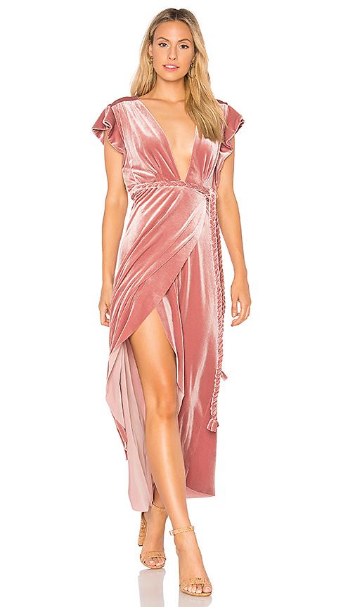 MISA Los Angeles Carolina Dress in Pink