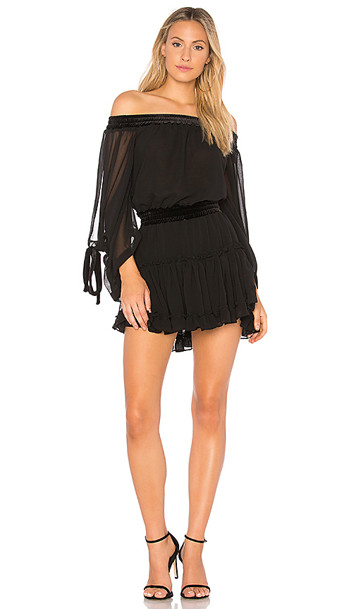 MISA Los Angeles Monique Dress in Black