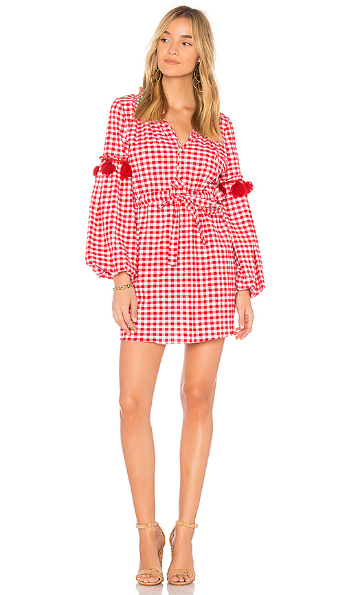 MISA Los Angeles Lisseth Dress in Red