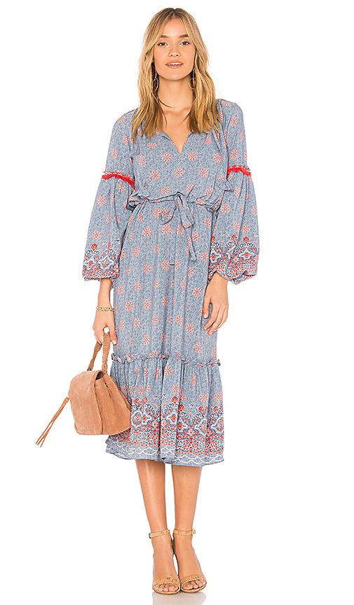 MISA Los Angeles Meike Dress in Blue