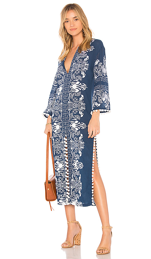 MISA Los Angeles Calia Tunic in Blue