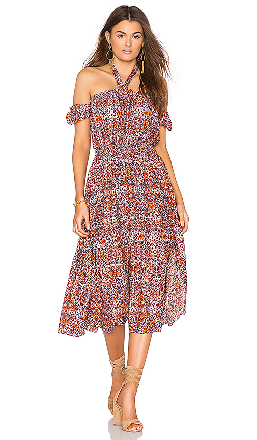 MISA Los Angeles Callie Dress in Red
