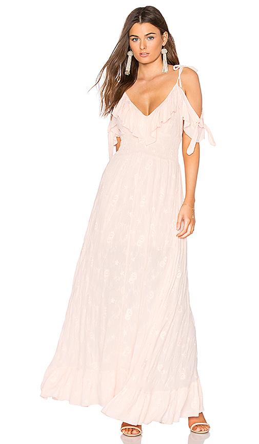 MISA Los Angeles Keira Dress in Pink