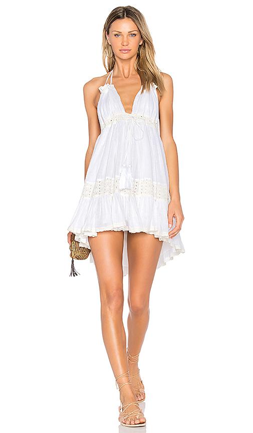 MISA Los Angeles Sofi Dress in White