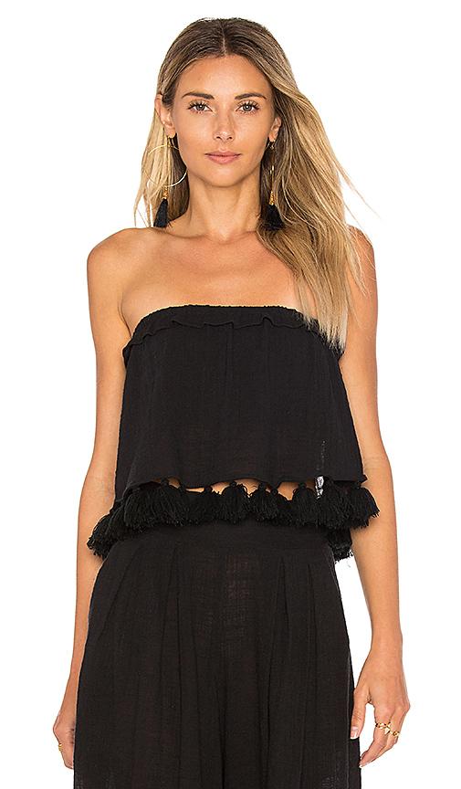 MISA Los Angeles Soleil Top in Black