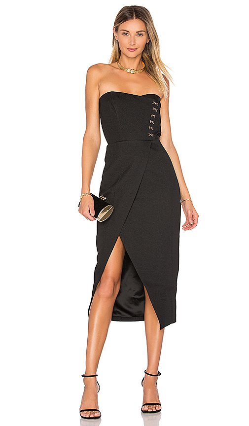 Misha Collection Pasquale Dress in Black