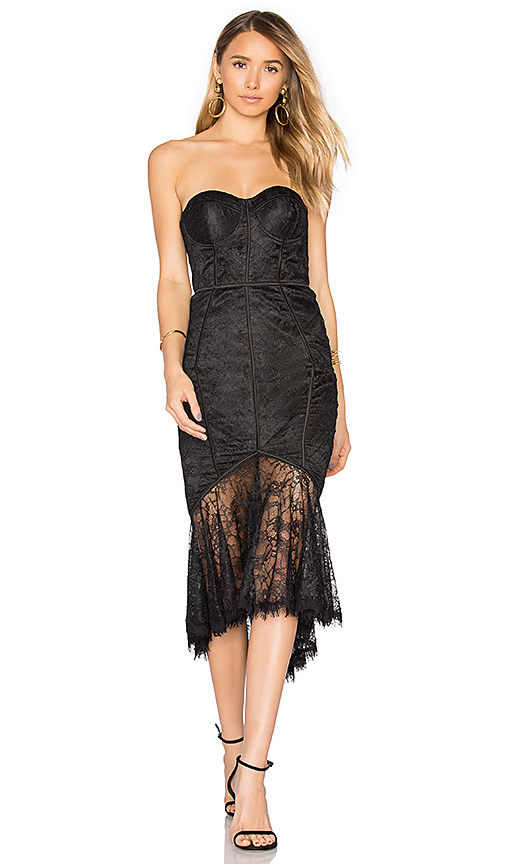 Misha Collection Darlene Dress in Black