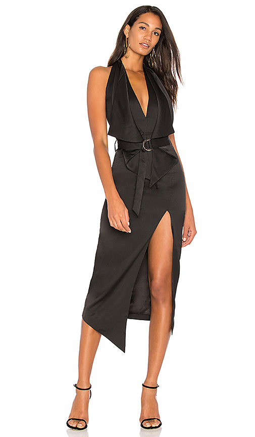 Misha Collection Carrie Dress in Black
