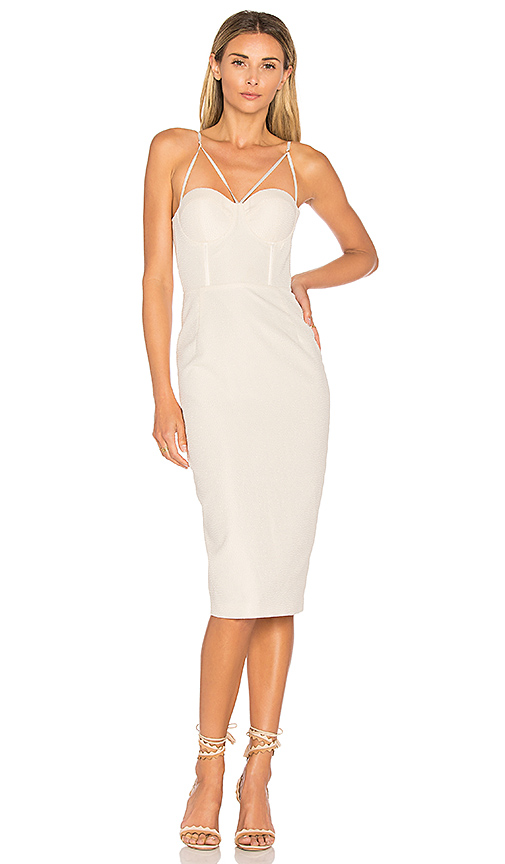 Misha Collection Felicienne Dress in Ivory