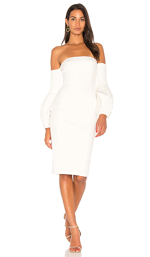 Misha Collection Merena Dress in Ivory