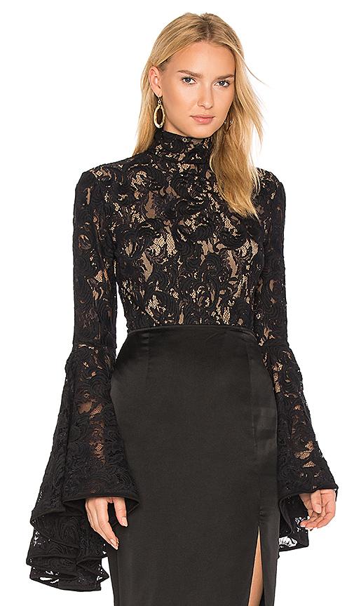Misha Collection Lolita Bodysuit in Black