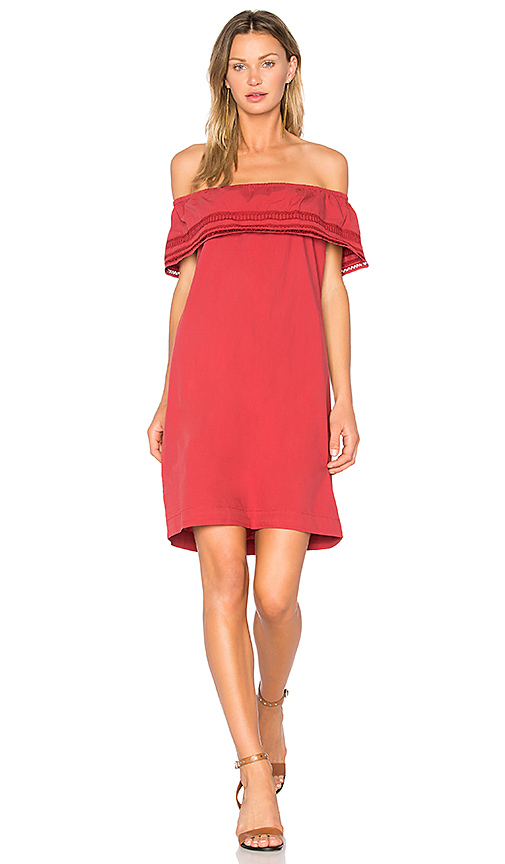 MKT studio Ridbl Dress in Burgundy