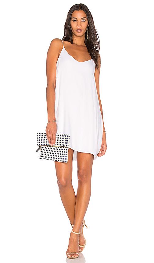 Michael Lauren Chance Tank Dress in White