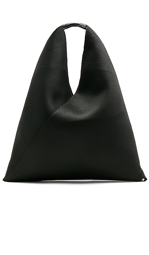 MM6 Maison Margiela Net Shopper in Black