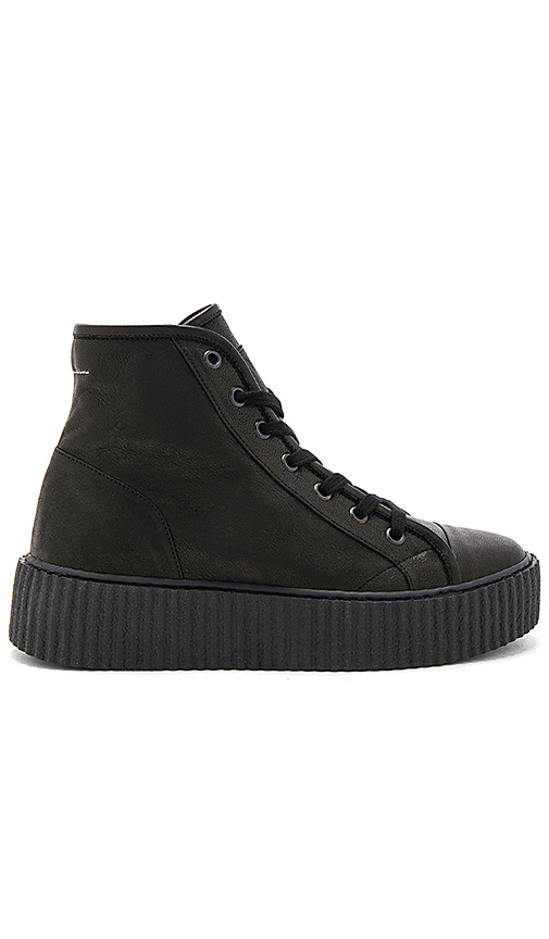 MM6 Maison Margiela High Top Sneakers in Black. - size 36 (also in 36.5,37,37.5,39)