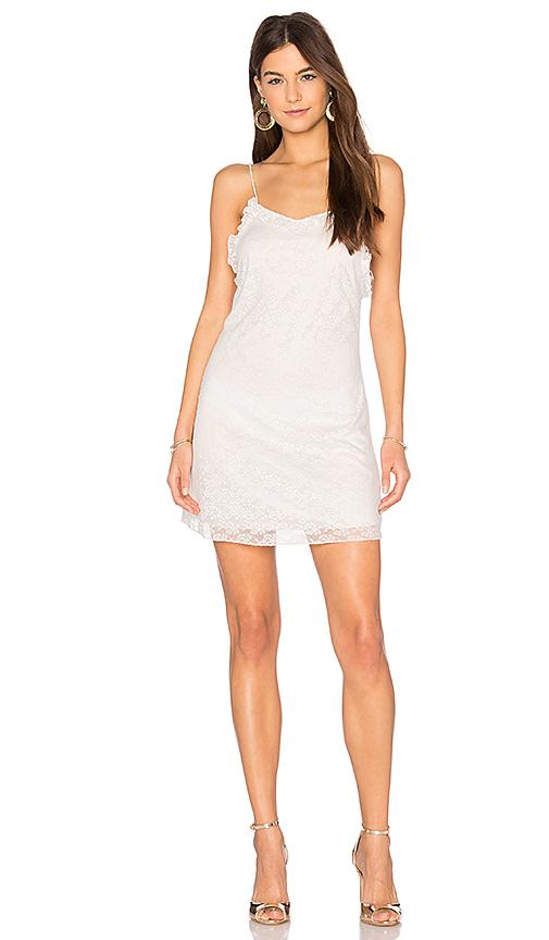 Motel Rowen Dress in White