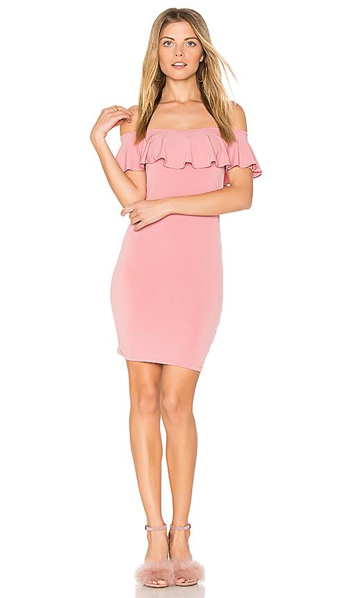 Motel Nolla Dress in Rose