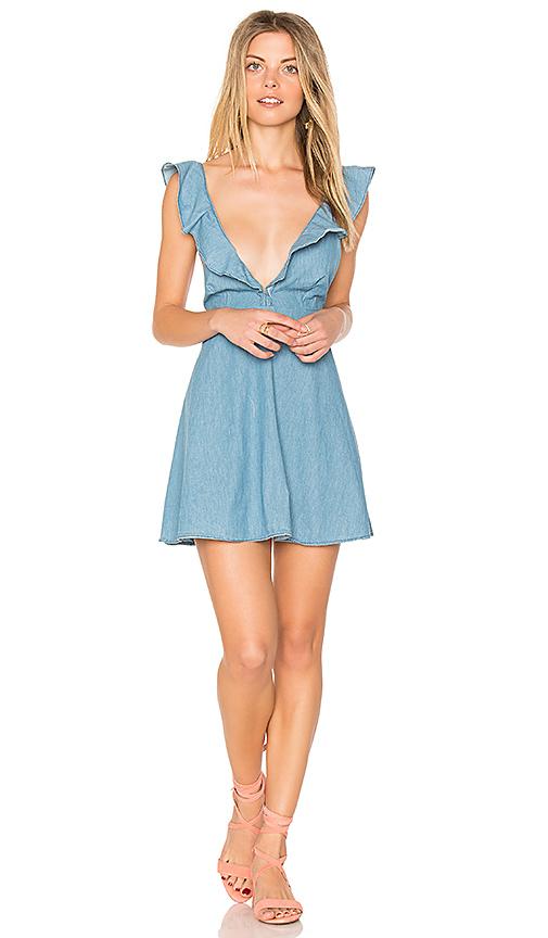 Motel Kasmara Dress in Blue