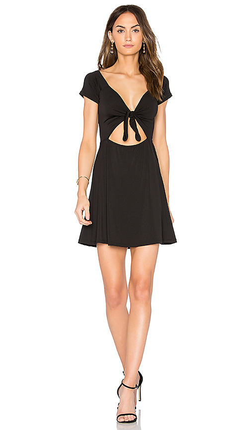Motel Mozer Dress in Black