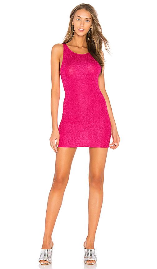 Motel Mergy Dress in Pink