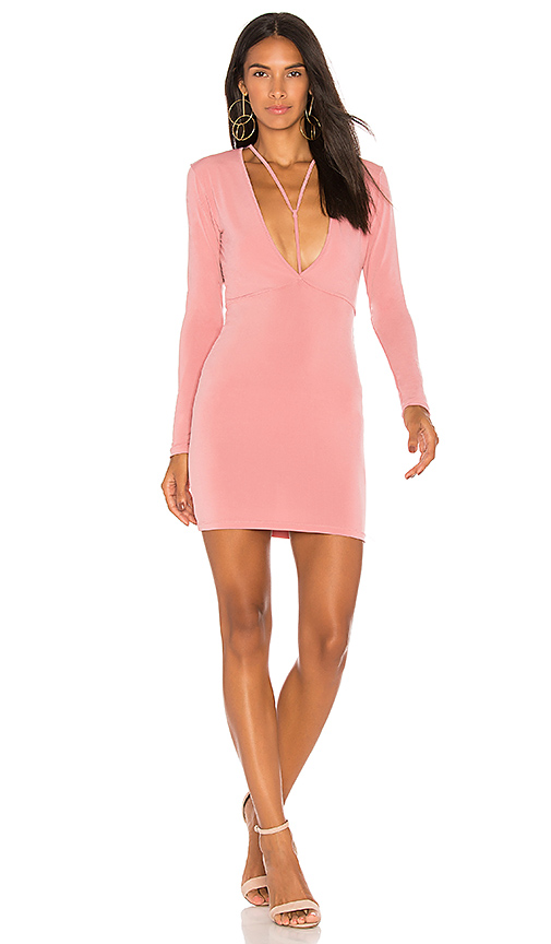 Motel Gealy Dress in Blush
