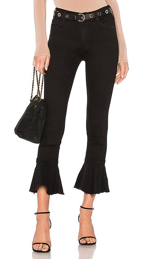 MOTHER The Cha Cha Fray in Black. - size 23 (also in 26,27,29)