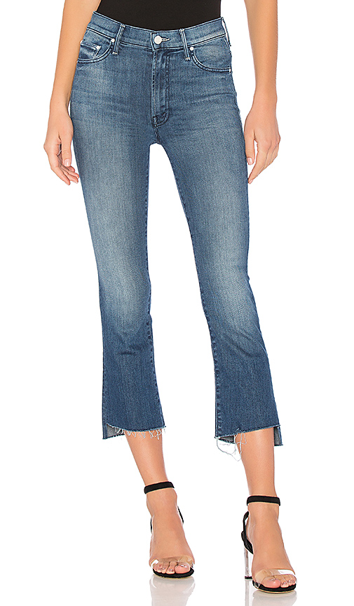 MOTHER The Insider Crop Step Fray. - size 23 (also in 24,25,26,27,28,29,30)