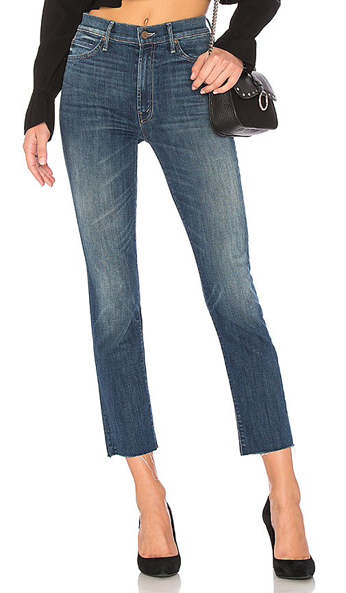 MOTHER High Waisted Rascal Ankle Fray. - size 23 (also in 24,25,26,27,28)