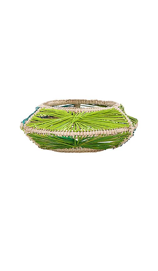 Mercedes Salazar Aro Woven Bracelet in Green
