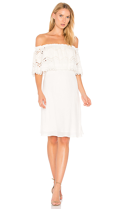Maria Stanley x REVOLVE Marie Dress in Ivory