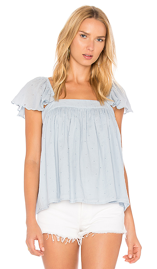 Maria Stanley Lindsey Blouse in Blue