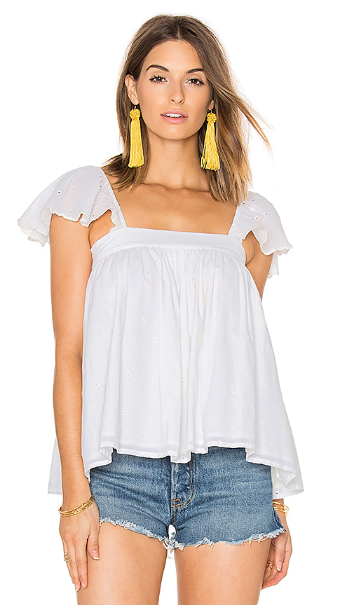 Maria Stanley Lindsey Blouse in White