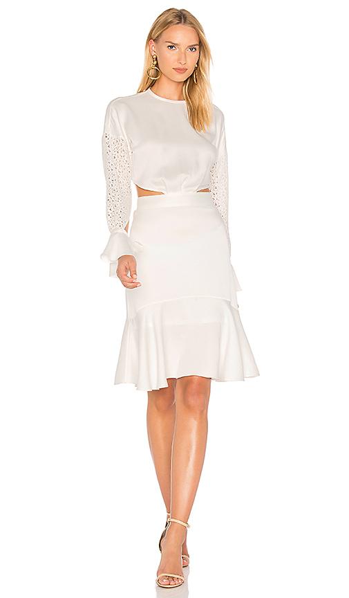 Marissa Webb Benson Dress in White