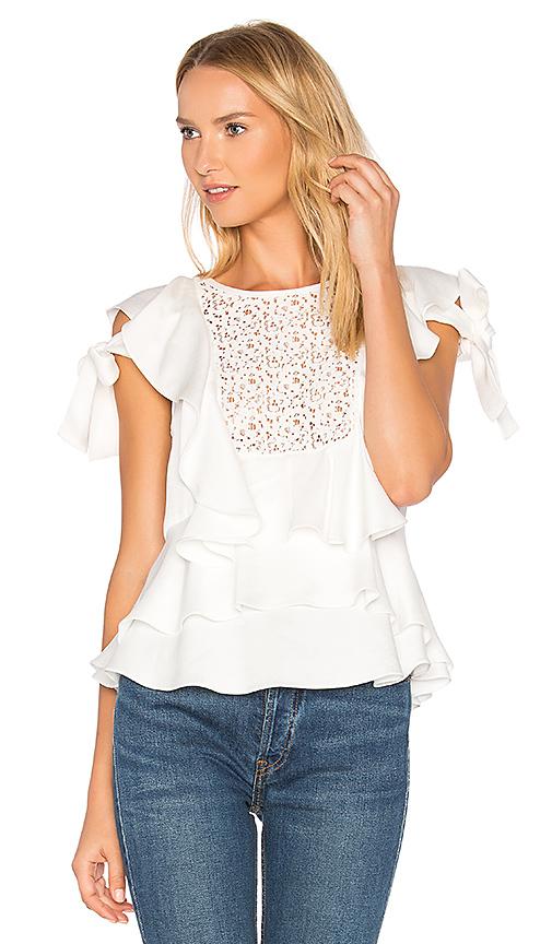 Marissa Webb Marielle Top in White