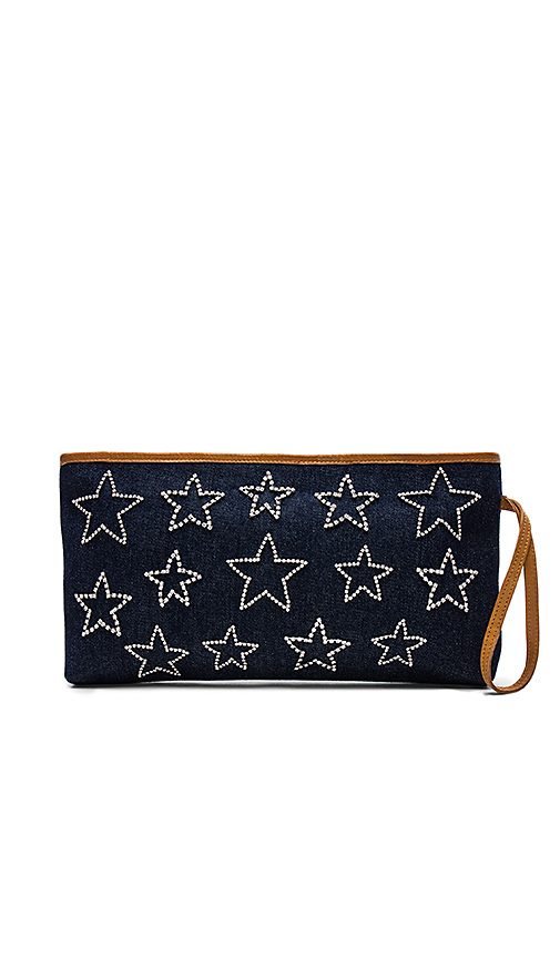 Mystique Star Clutch in Navy