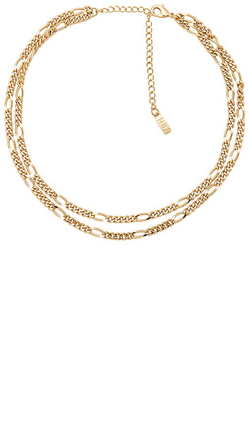 Natalie B Jewelry Portofino Necklace in Gold