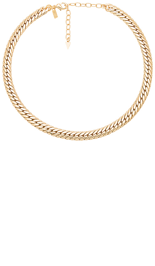 Natalie B Jewelry Viviani Necklace in Metallic Gold