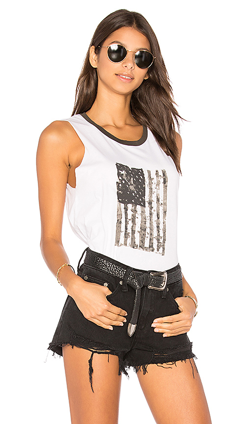 Nation LTD Crescent Heights Tank in White