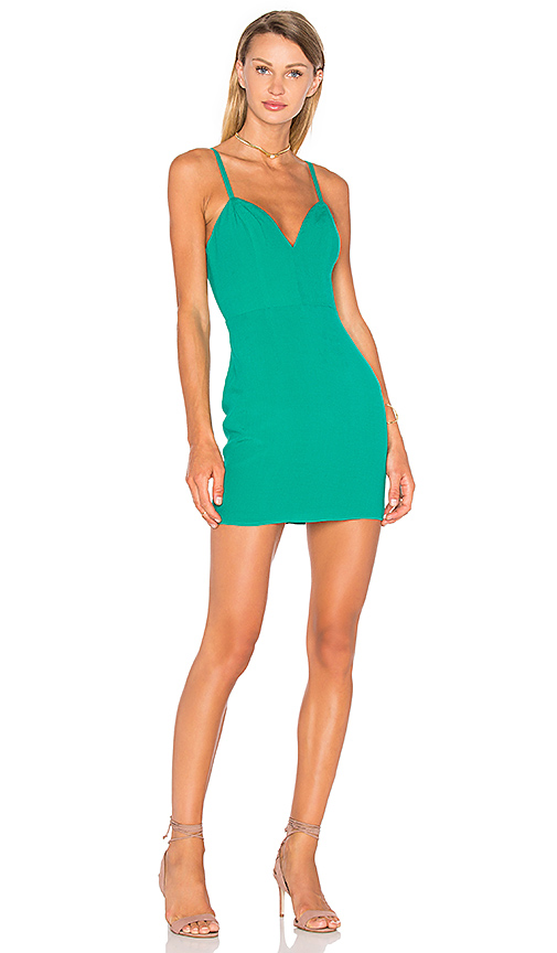 NBD x Naven Twins Not Your Babe Dress in Teal