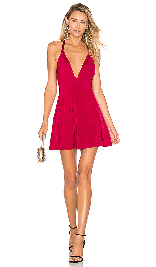 NBD x Naven Twins Sugar Sugar Dress in Red
