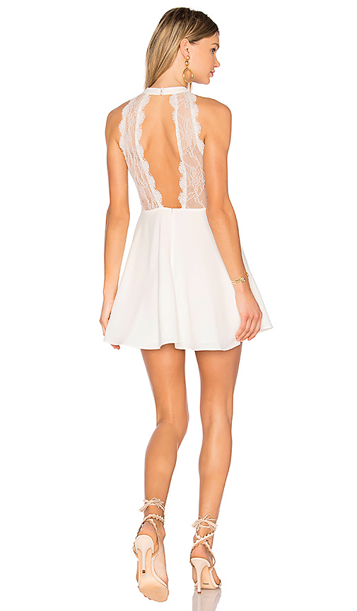 NBD Gimmie More Dress in White