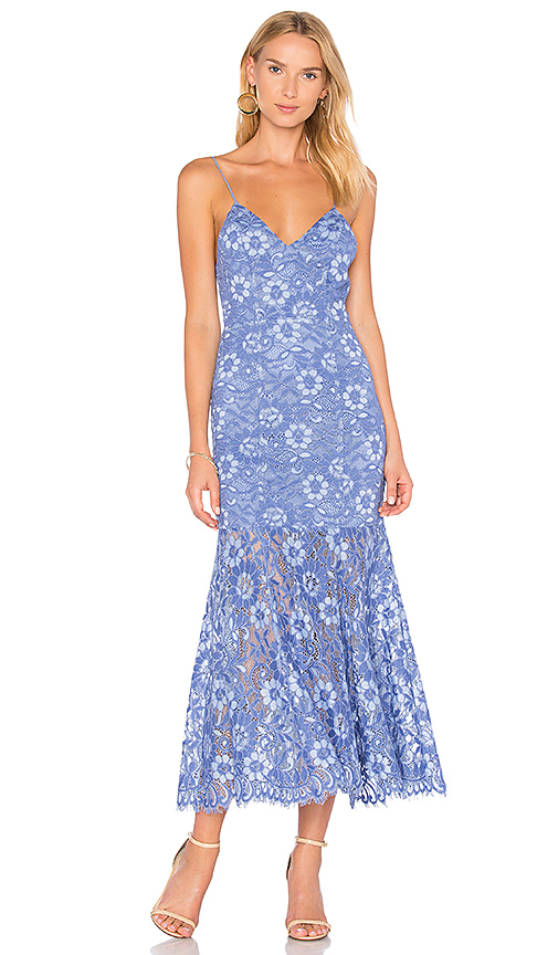 NBD Brielle Dress in Blue
