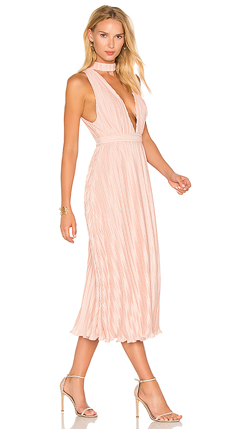 NBD Maeve Dress in Blush