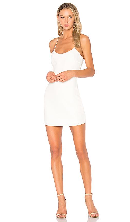 NBD Aria Mini Dress in Ivory