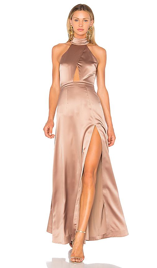 NBD x REVOLVE Zendaya Gown in Mauve