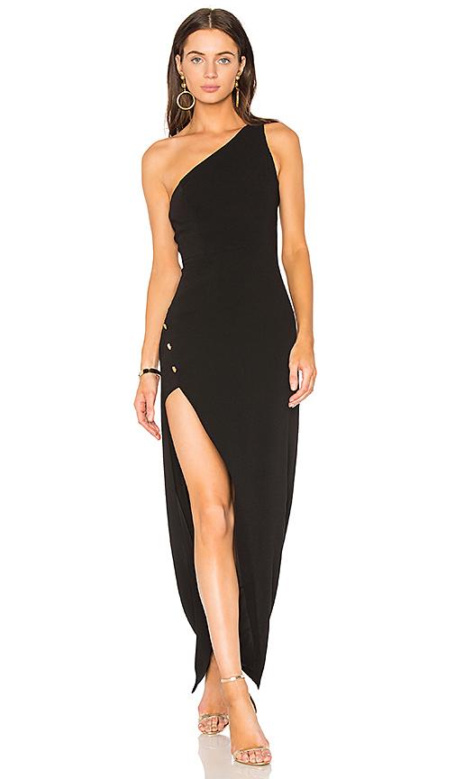 NBD x REVOLVE Aldon Gown in Black