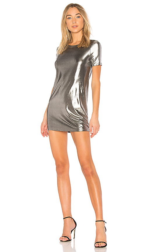 NBD x REVOLVE Iven Mini in Metallic Silver