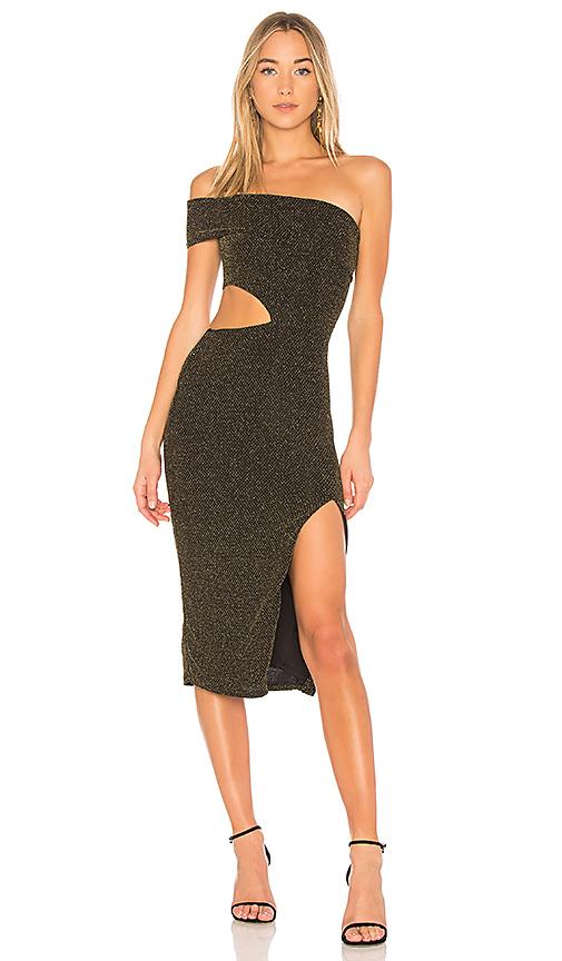 NBD x REVOLVE Arlo Off Shoulder Dress in Black